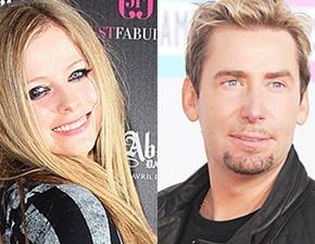 Avril e Chad comemoram noivado em Las Vegas