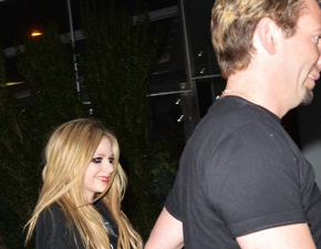 Foto: Avril e Chad no BOA Steakhouse em Los Angeles