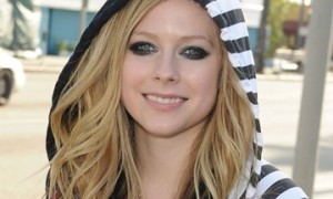 Avril Lavigne In An Abbey Dawn Hoodie at Siren Studios