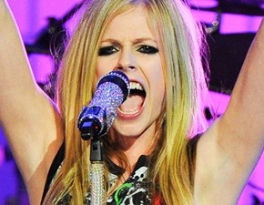 Avril Lavigne no site Vagalume