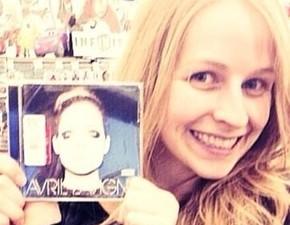 Michelle Lavigne já tem o seu Avril Lavigne!