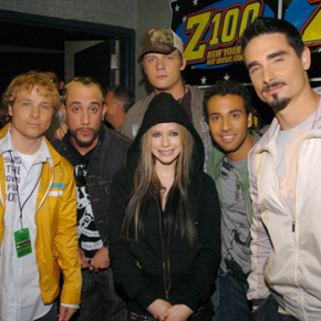 Avril fará turnê com os Backstreet Boys nos Estados Unidos