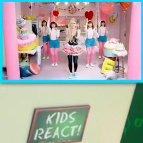 Crianças assistem e comentam o vídeo Hello Kitty