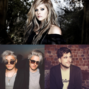 Ouça 'Wings Clipped', nova parceria de Avril Lavigne com Grey e Anthony Green